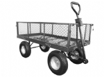Large Platform Truck with Mesh Sides